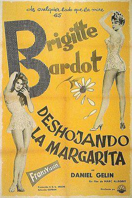En effeuillant la marguerite - Poster Espagne 2