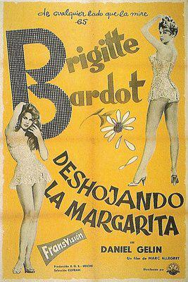 Shedding Petals / Mademoiselle Strip-Tease / Plucking the Daisy - Poster Espagne 2