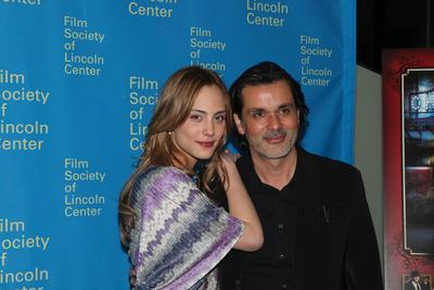 Vague de French cinema à New York - Christophe Barratier et Nora Arnezeder - © Emile Dubuisson / Unifrance