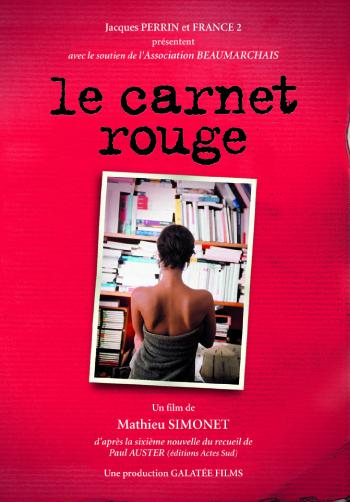 Le Carnet rouge - © Graphiste: Philippe Laurent/Photo: Cesar