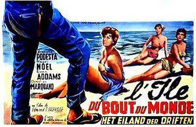 L'Ile du bout du monde - Poster Belgique