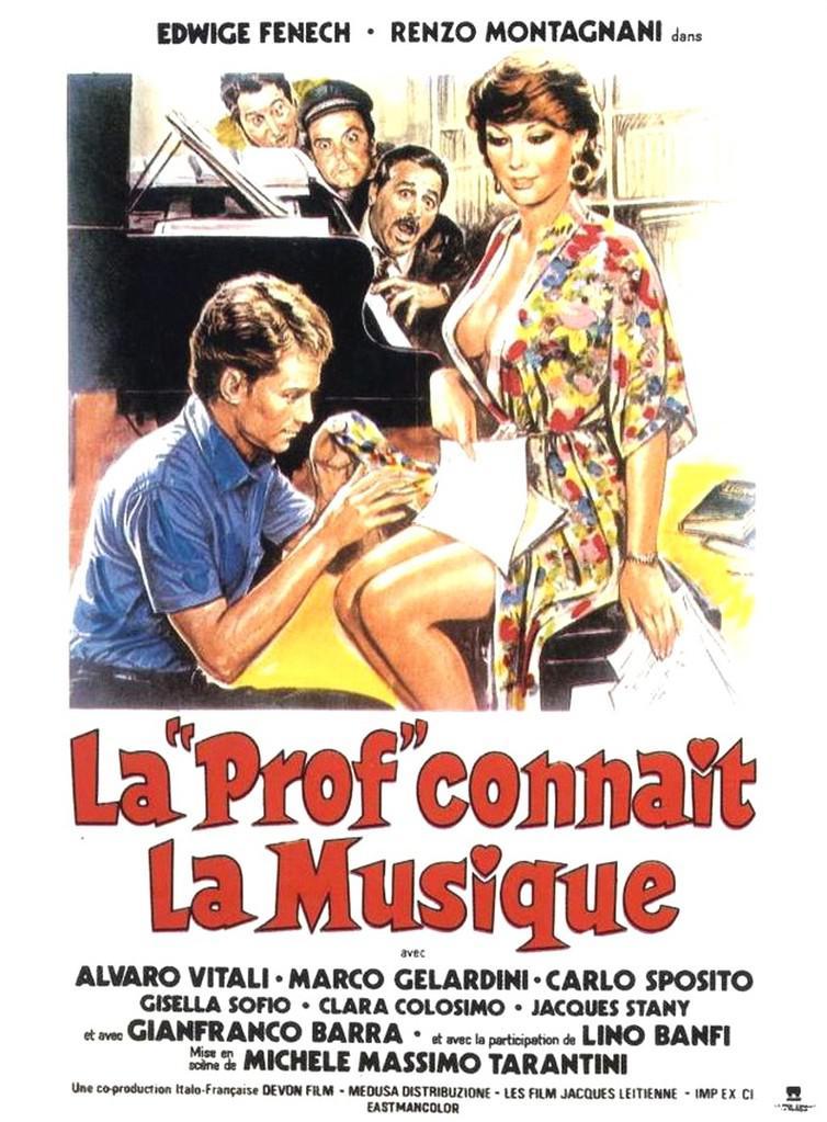 """La """"Prof"""" connaît la musique"""