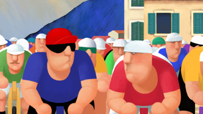 Biciklisti (Cyclistes)