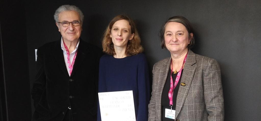 Mia Hansen-Løve galardonada con el primer Premio de la Academia Franco-Alemana del Cine