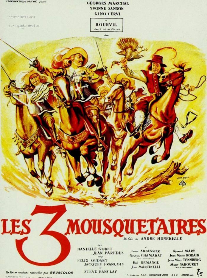 1953 TÉLÉCHARGER LES TROIS MOUSQUETAIRES