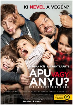 Papa ou maman - Poster - Hungary