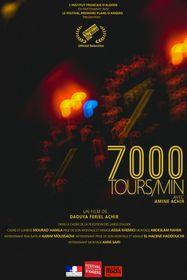 7000 tours/min
