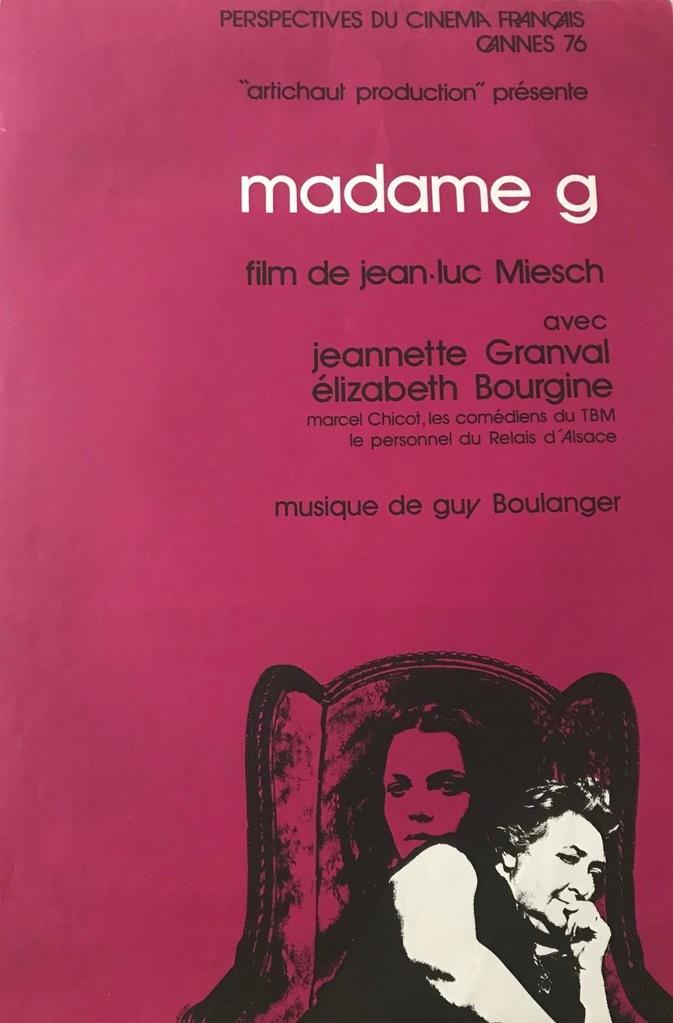 Madame G.