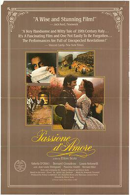 Passion d'amour - Poster Etats-Unis
