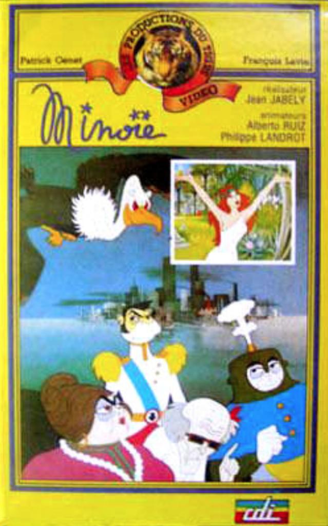 Monique Thierry - Jaquette VHS France