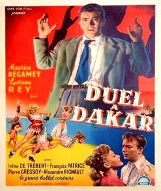 Duel à Dakar - Poster Belgique