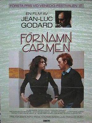 First Name: Carmen - Poster Suède