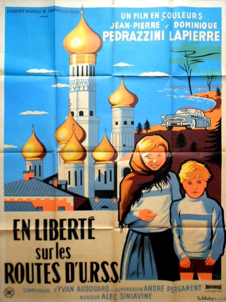En liberté sur les routes d'URSS