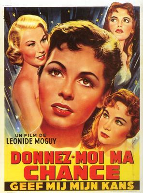 Donnez-moi ma chance - Poster Belgique