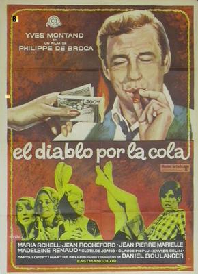 El Diablo por la cola - Affiche espagnole