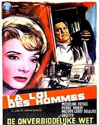 La Loi des hommes - Poster Belgique