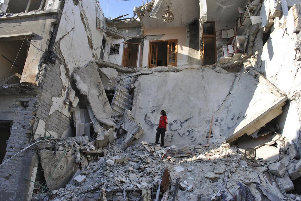Eau argentée, Syrie autoportrait