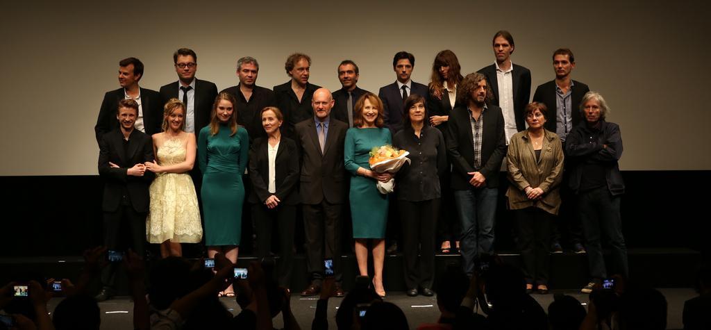 Prix du public pour Populaire au Festival du Film Français au Japon - © Rumi Yoshida/UniFrance