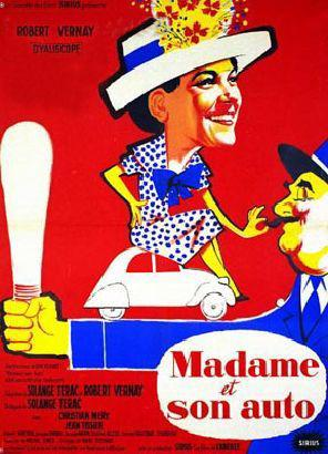 Madame et son auto
