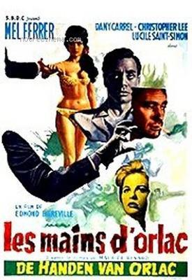 Les Mains d'Orlac - Poster Belgique