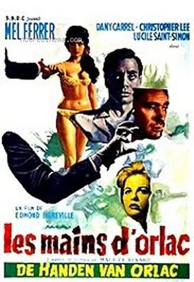 The Hands of Orlac - Poster Belgique