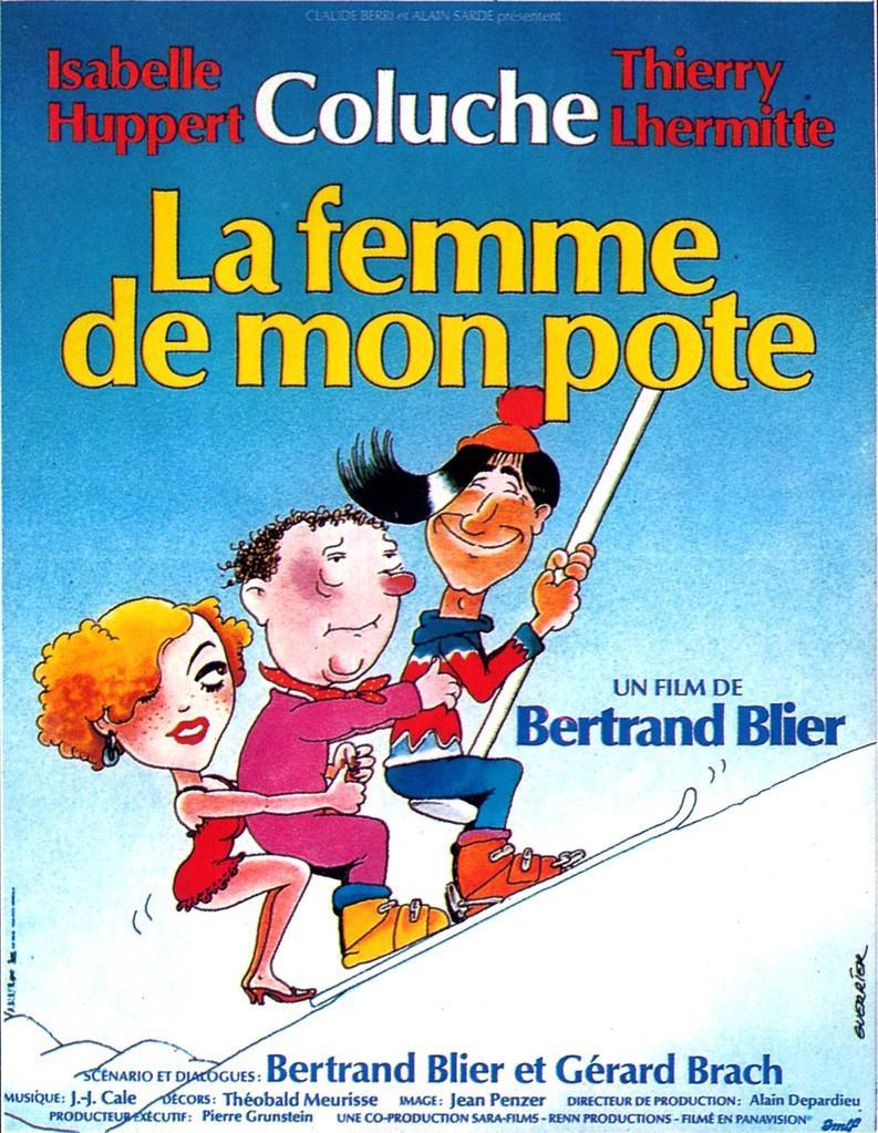 La femme de mon pote - Poster France