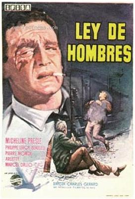 La Loi des hommes - Poster Espagne