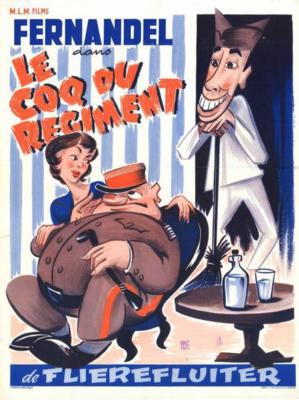 Le Coq du régiment - Poster Belgique