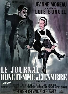 小間使の日記 - Poster France