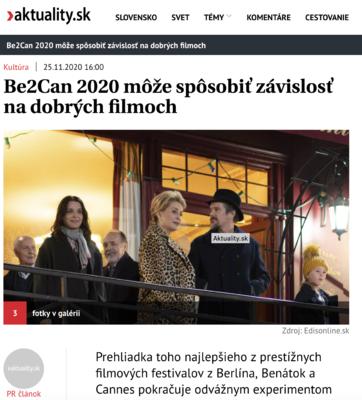Revue de presse - Décembre 2020