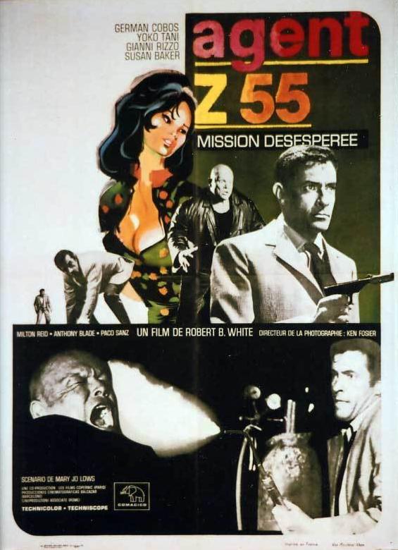 Agente Z-55, misión Hong Kong