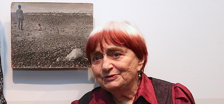 ... Agnès Varda, filmmaker