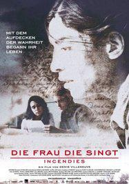 Incendies - Poster Allemagne
