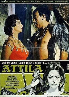 Atila: Hombre o demonio - Poster - Italy