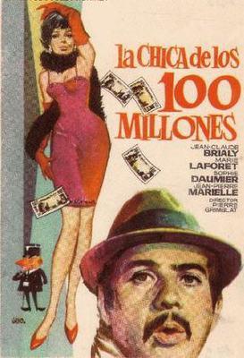 La Chica de los cien millones - Poster Espagne