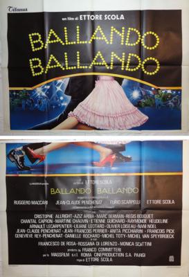 La Sala de baile (El baile) - Poster Italie