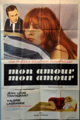 Mon amour, mon amour - Poster Argentine