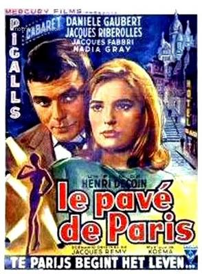 Le Pavé de Paris - Poster Belgique