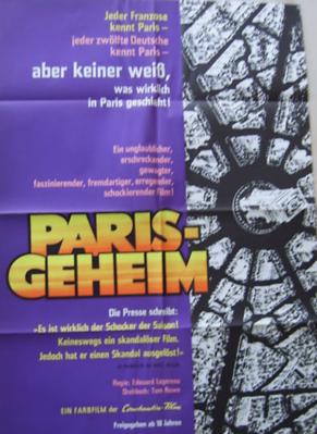 Paris secret - Poster Allemagne