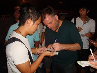 Les festivals d'extrême-orient accueillent le cinéma français - Pascal Laugier au Kaohsiung Film Festival - © Unifrance.org