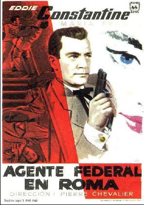 Agente federal en Roma - Poster Espagne