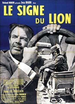 Le Signe du Lion - Poster France