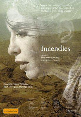 Incendies - Poster Australie
