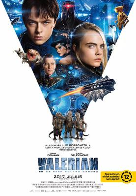 Valerian and the City of a Thousand Planets - Poster - Hungary
