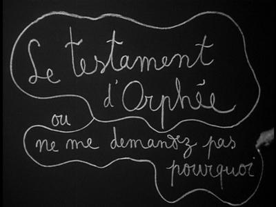 El Testamento de Orfeo