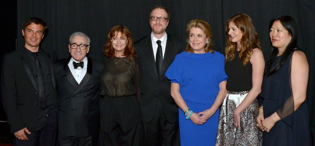 Catherine Deneuve recibio el Chaplin Award