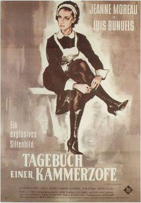 Le Journal d'une femme de chambre - Poster Allemagne
