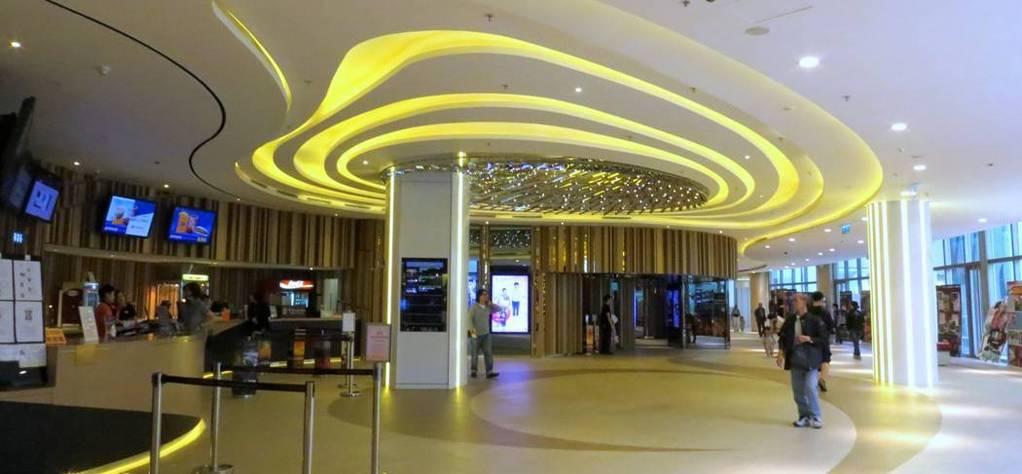 Panorama of movie theaters around the world