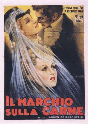La Duchesse de Langeais - Poster Italie