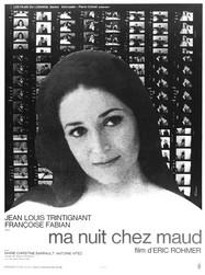 My Night at Maud's - Poster France
